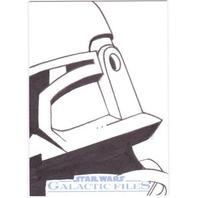 2012 Star Wars Galactic Files Sketches #19 1/1 Card Diego Jourdan Boba Fett