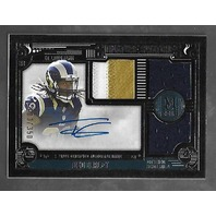 TODD GURLEY 2015 Topps Museum Collection Signature Swatches auto patch /350