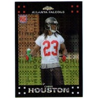 CHRIS HOUSTON 2007 Topps Chrome XFRACTOR Rookie Card Parallel RC