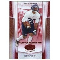 JOSH WILSON 2007 Leaf Certified Materials Mirror Red Rookie Card Parallel 37/100