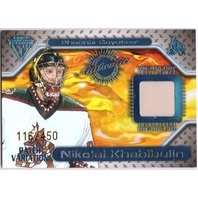 NIKOLAI KHABIBULIN 2000-01 Private Stock Titanium Game Gear Jersey Patch /450