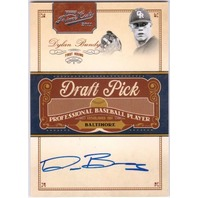 DYLAN BUNDY 2011 Prime Cuts Draft Picks Signatures Autograph Auto Card 38/249