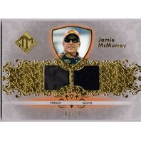 JAMIE McMURRAY 2012 Press Pass Total Memorabilia Race Firesuit Glove Card 60/75