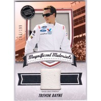TREVOR BAYNE 2011 Fanfare Magnificent Materials Race Used Firesuit Card 162/199