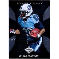 CHRIS JOHNSON 2013 Limited Black Spotlight #97 1/1 Parallel Card
