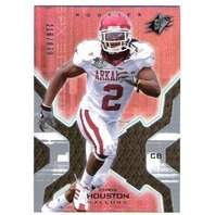 CHRIS HOUSTON 2007 Upper Deck SPX ROOKIE Card 218/899 RC #105