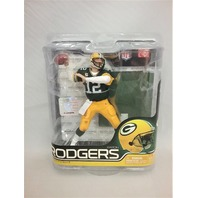 2011 Aaron Rodgers McFarlane Figure Green Jersey NFL Series 27 Green Bay Packers