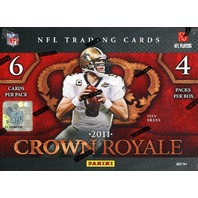 2011 Panini Crown Royale Football Hobby Box (Sealed)