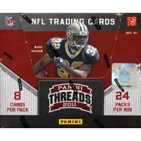 2011 Panini Threads Football Hobby Box (Sealed)
