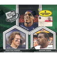 2011 Press Pass Football Hobby Box (28 Packs)(Factory Sealed)