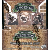 2011 Press Pass Legends Football Hobby Box ((Factory Sealed)