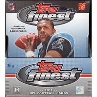 2011 Topps Finest Football Hobby Box (Sealed)