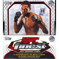 2011 Topps UFC Finest Hobby Box NEW (Sealed)