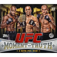 2011 Topps UFC Moment of Truth Hobby Box (Sealed)