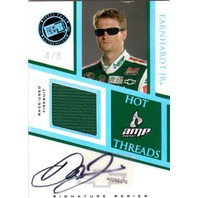 DALE EARNHARDT JR. 2009 Press Pass Premium Hot Threads Auto Firesuit 4 /8 Card