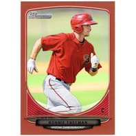 RONNIE FREEMAN 2013 Bowman Prospects Red Parallel 1/1 Card #BP51 Prospect