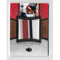 VICTOR MARTINEZ 2006 Upper Deck Exquisite Collection Maximum Patch /25 4 Color
