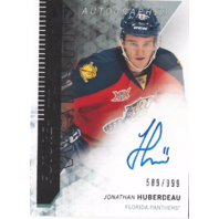 Jonathan Huberdeau 2013 SP Authentic Future Watch Rookie Auto SP /999