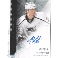Tyler Toffoli Sp Authentic Future Watch Autograph Los Angeles Kings /999