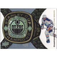 Wayne Gretzky 2013-14 Black Diamond Championship Rings All-Time Greats Card