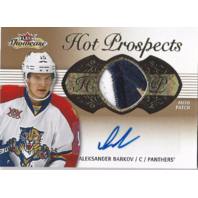 Aleksander Barkov  2013-14 Fleer Showcase #209 Jersey Autograph Card /175
