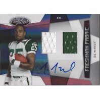 Joe McKnight 2010 Jets Auto RC Rookie Panini Certified Freshman Fabric Ltd.#/699