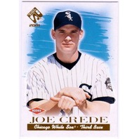 JOE CREDE 2001 Pacific Private Stock Rookie Card SP RC Short Print