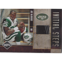 Joe McKnight  2010 Panini Limited Initial Steps Materials Memorabilia Card Shoe