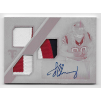 Jadeveon Clowney 2014 Topps Triple Threads Autographed Relics Printing Plates 1/1