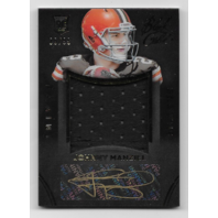 Johnny Manziel 2014 Panini Black Gold /99 Rookie Auto brownswatch