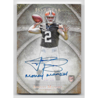 Johnny Manziel 2014 Topps Five Star /25 Rookie Auto