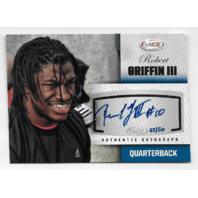 Robert Griffien III 2012 Sage Authentic Autograph #A20 Rookie Auto