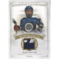 Aito Iguchi 2016 Upper Deck Goodwin Champions Memorabilia #M-AI