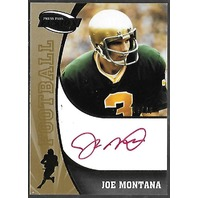 Joe Montana 2009 Press Pass Fusion /26 Auto