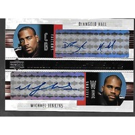DeANGELO HALL/MICHAEL JENKINS 2004 Upper Deck Dual Endorsements auto #DE-HJ Auto