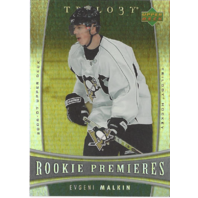 2006-07 SP Game Used #149 Evgeni Malkin Rainbow Rookie Card RC