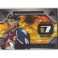 Joe Sakic  2001 Titanium Hockey Game-Used Stick Colorado Avalanche /224