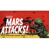 2012 Topps Mars Attacks Heritage Trading Cards Box