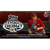 2012 Topps Pro Debut Baseball Hobby Box