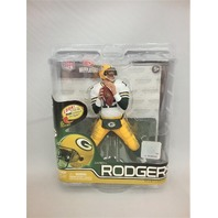 2012 Aaron Rodgers McFarlane's Sportspicks Figure White Jersey NFL Series 30 Green Bay Packers