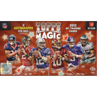 2012 Topps Magic Football Hobby Box (Sealed)
