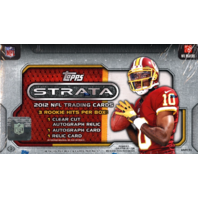 2012 Topps Strata Football Hobby Box (Sealed)