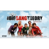 2012 The Big Bang Theory Seasons 3 & 4 (Cryptozoic) Box (Sealed)