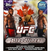2012 Topps UFC Bloodlines Hobby Box (Sealed)
