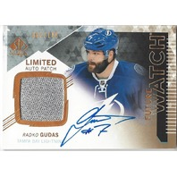 2013-14 SP Authentic Limited #275 Radko Gudas Autograph Jersey Card 062/100