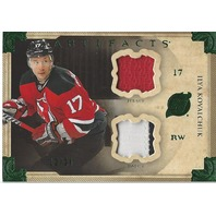 Ilya Kovalchuk New Jersey Devils Artifacts Jersey Patch Card /24