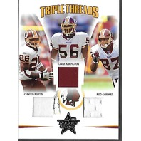 PORTIS/ARRINGTON/GARDNER 2005 Donruss Leaf Rookies & Stars R&S Triple Threads /150