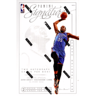 2013/14 Panini Signatures Basketball Hobby Box (Sealed)
