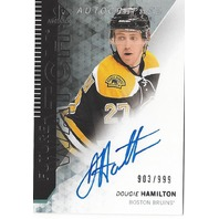 Dougie Hamilton Autographed Future Watched Boston Bruins Cards /999