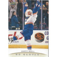 Brett Hull UD Canvas 2011-12 Series Two Hockey